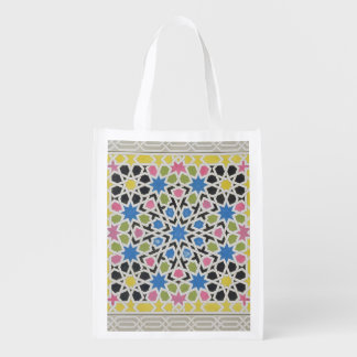 Mosaic design from the Alhambra, from 'The Arabian Market Tote