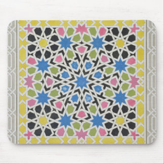 Mosaic design from the Alhambra, from 'The Arabian Mouse Pad