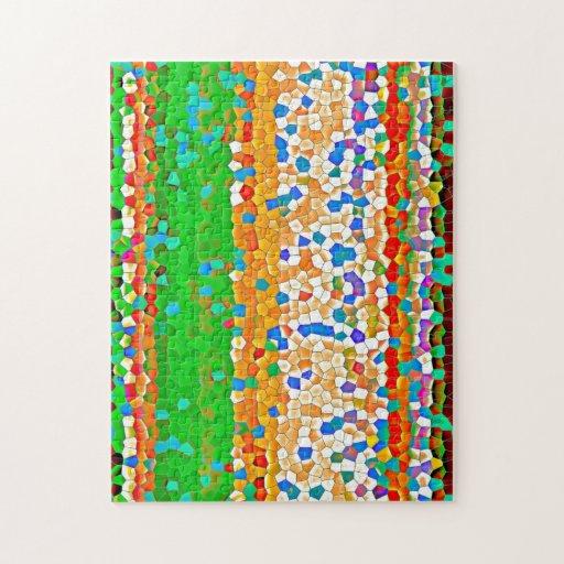 Mosaic Design Puzzle/Jigsaw | Zazzle