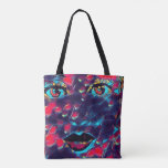 Mosaic Doll Tote Bag