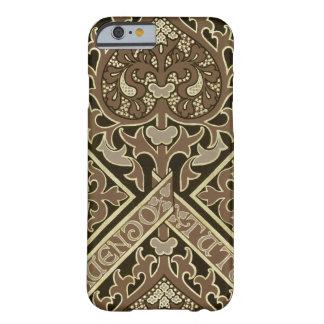Mosaic ecclesiastical wallpaper design barely there iPhone 6 case
