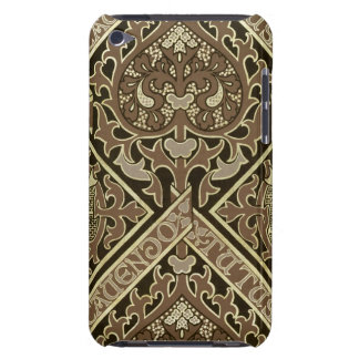 Mosaic ecclesiastical wallpaper design barely there iPod case