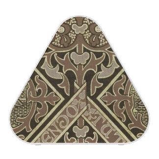 Mosaic ecclesiastical wallpaper design speaker