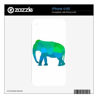Mosaic Elephant 1 iPhone 4S Skin
