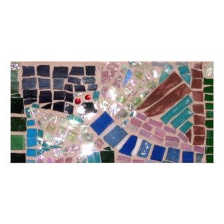 Mosaic Fireflies Card
