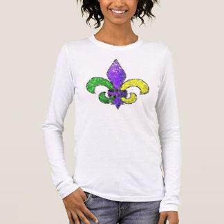 Mosaic Fleur-de-lis Long Sleeve T-Shirt