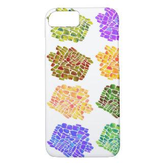 mosaic flower pattern iPhone 8/7 case