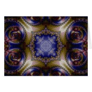 Mosaic Fractal 136 Card