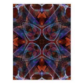 Mosaic Fractal 141 Postcard