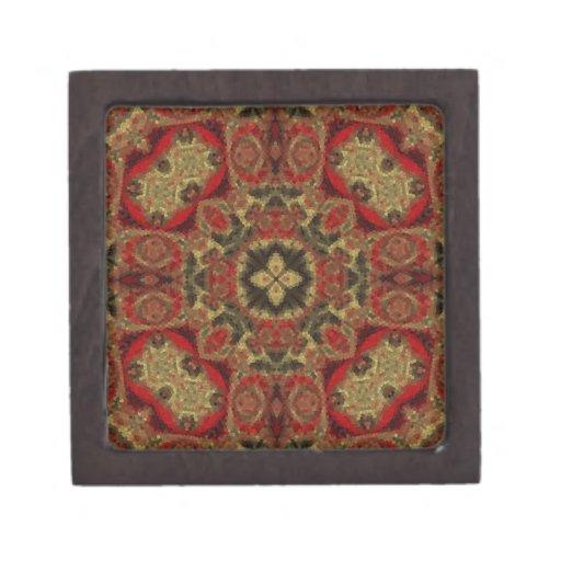 Mosaic Fractal 29 Premium Keepsake Box
