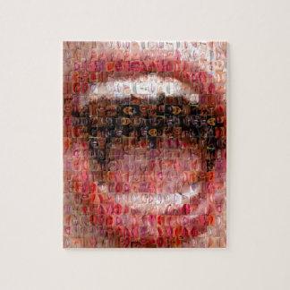 "Mosaic ""giggle "" jigsaw puzzle"