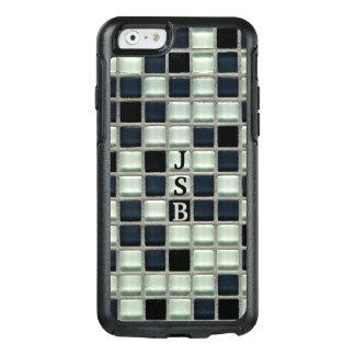 Mosaic Glass Tile Effect Custom Monogram OtterBox iPhone 6/6s Case