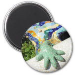Mosaic hand - Cool magnet