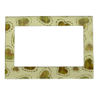 Mosaic Hearts Magnetic Frame