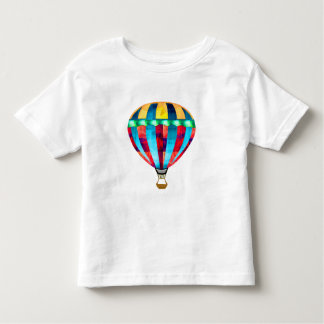 Mosaic Hot Air Balloon in Red, Yellow & Blue Toddler T-shirt