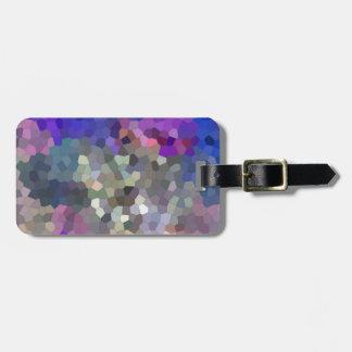 Mosaic II Luggage Tag