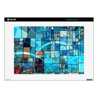 Mosaic in Mosaic Decal For Laptop