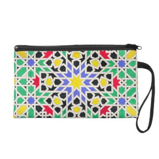 Mosaic in the dado of the east side of the Tower o Wristlet Purse