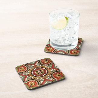 Mosaic Inlay Beverage Coaster