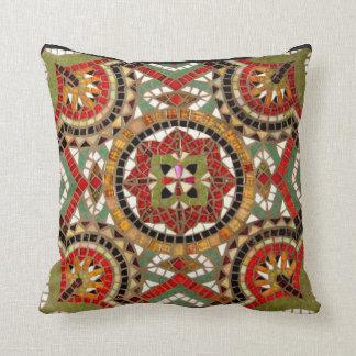Mosaic Inlay Pillow