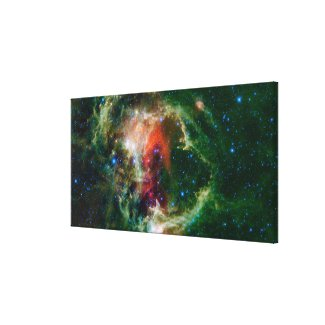 Mosaic is of the Soul Nebula Canvas Print