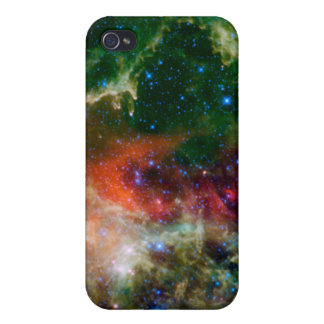 Mosaic is of the Soul Nebula iPhone 4 Covers