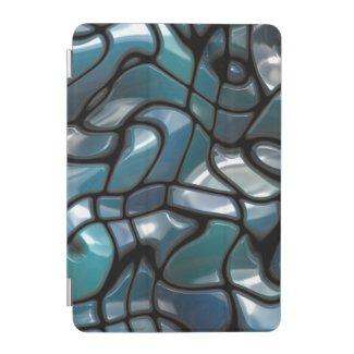 Mosaic Jigsaw Sea iPad Mini Cover