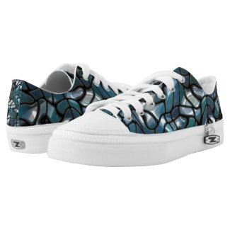 Mosaic Jigsaw Sea Printed Shoes