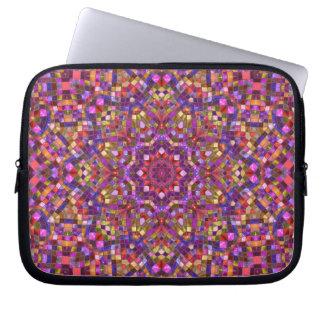 Mosaic Kaleidoscope   Neoprene Laptop Sleeves
