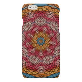 Mosaic kaleidoscope pattern glossy iPhone 6 case