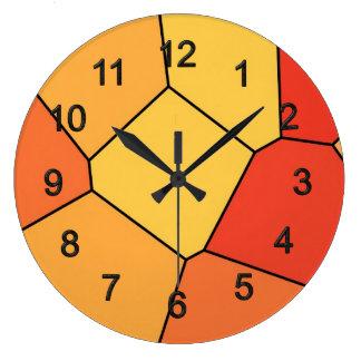 Mosaic Large Clock