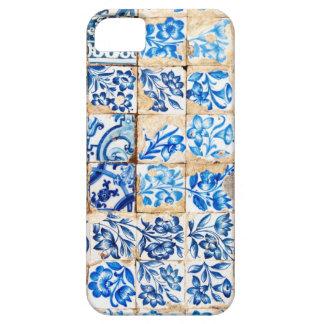 mosaic lisbon blue decoration portugal old tile iPhone SE/5/5s case