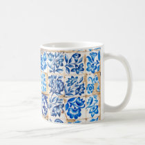 mosaic lisbon blue decoration portugal old tile po coffee mug