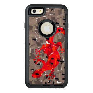Mosaic Lizard Fantasy OtterBox Defender iPhone Case