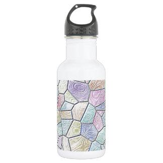 Mosaic Lora,candy 18oz Water Bottle