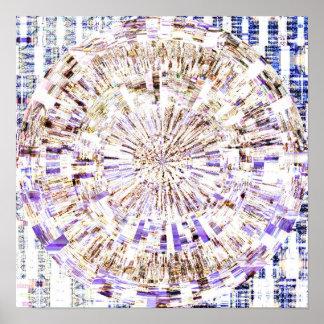 Mosaic Mandala 1.6 Poster