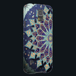 "Mosaic Mandala in Blue Phone Case<br><div class=""desc"">Available on a variety of device models,  this design features a kaleidoscopic mandala design in varying shades of blue,  turquoise,  and terracotta.Shown here on Samsung Galaxy S5.</div>"