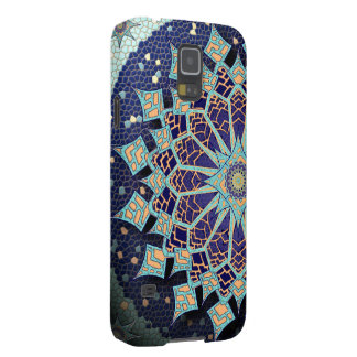 Mosaic Mandala in Blue Phone Case Galaxy S5 Cover
