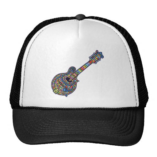 Mosaic Mandolin Trucker Hat