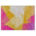 Mosaic Modern Geometric Pattern 6 Cutting Board