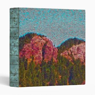Mosaic Mountain Binder