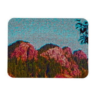 Mosaic Mountain Magnet