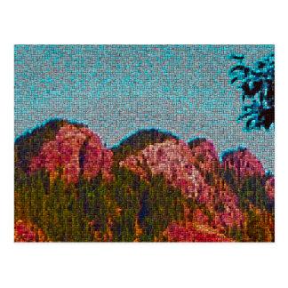 Mosaic Mountain Postcard