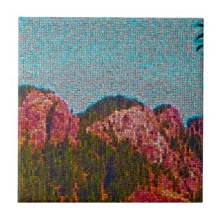 Mosaic Mountain Ceramic Tile