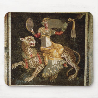 Mosaic of Dionysus riding a Leopard c.180 AD Mouse Pad
