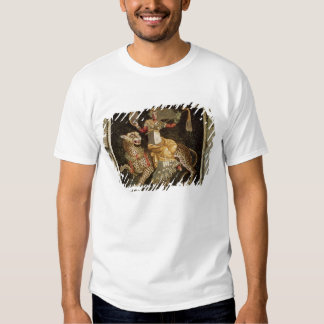 Mosaic of Dionysus riding a Leopard c.180 AD T-shirt