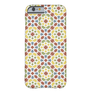 Mosaic of flowers and geometric color of Morocco Barely There iPhone 6 Case