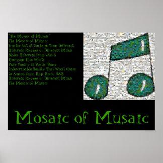 Mosaic of Musaic Poster