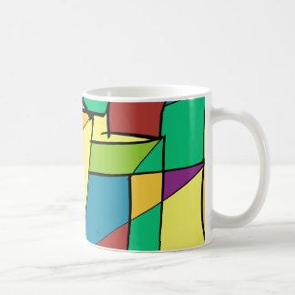 Mosaic of Squares Coffee Mug