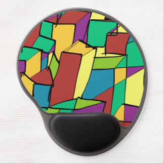 Mosaic of Squares Gel Mouse Pad